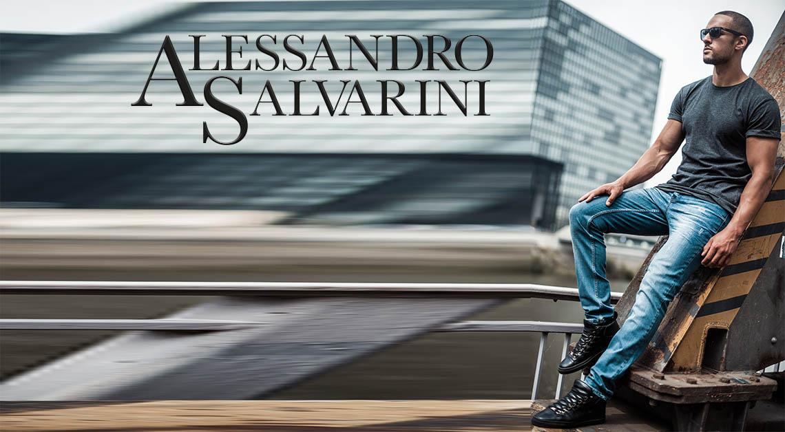 Alessandro Salvarini Jeans Herren